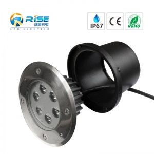 IP67 imperméable 6W LED trottoir feux souterrains